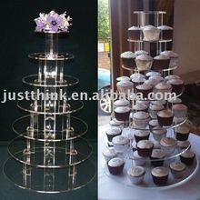 acrylic cake display stand