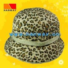 Women's Leopard Bucket Fashion Hat HWH-1001001