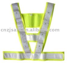 LED Light Mesh Safety Vest