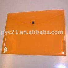2012 new PVC Document Bag envelope shaped ISO certificate