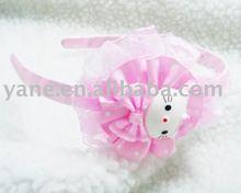 plastic headbands with flower,headband
