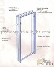 Knock Down Packing Structur Steel Door Frame,Low Cost