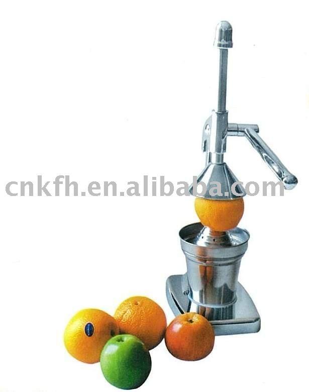 Manual de naranja exprimidor