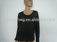 Bamboo women long sleeve shirt