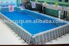 frame swimming pool