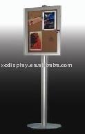 Pole Mounted Notice Board:lockable