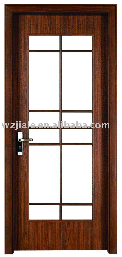 Eviar cristal puerta de madera para ba o cocina sala de - Puertas de cocina de cristal ...