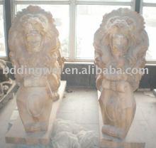 yellow stone lion