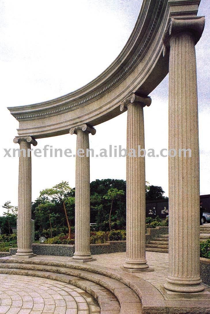 De la piedra arenisca de columna arquitect nico columna for V column architecture