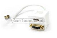 Green Connection Mini DVI to HDMI+DVI cable