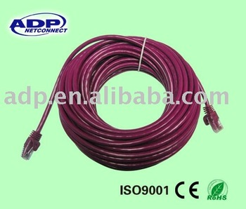 RJ45 Cat 5e & cat 6 jumper wire from professionally manufacturer