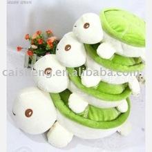Fashion tortoise plush cushion