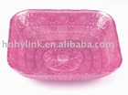 colored wedding plastic fruit serving tray