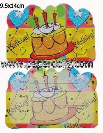 Birthday Invitation Card products, buy Birthday Invitat