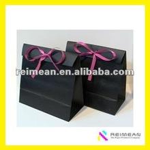 2012 Reimean New Design Black Paper Bag