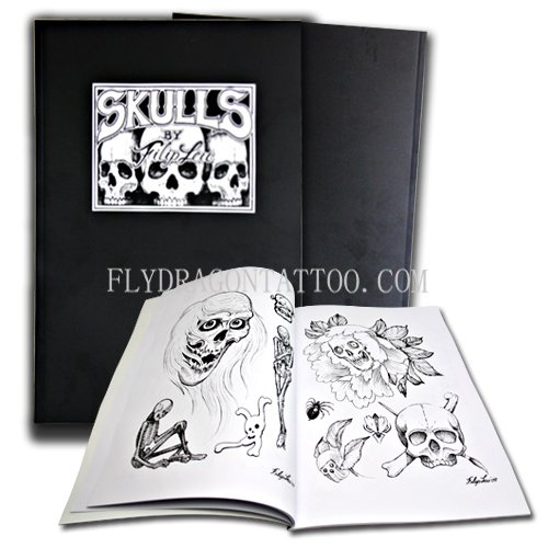 Payment is only released to the supplier after you confirm delivery. Learn more. See larger image: professional tattoo books--SKULLS by Filip Leu