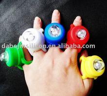 finger ring colourful led lights