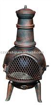 cast iron chimenea /chiminea TCH088