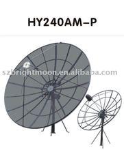 Aluminium mesh satellite dish antenna