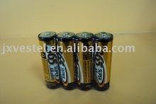 AA/LR6 alkaline battery, 1.5v, aluminum foil jacket