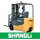 SHANGLi 3 Wheels Electric/ Battery Forklift 1-1.8 T with Italy SME