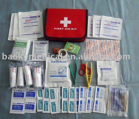 First aid kit earthquake survival guide