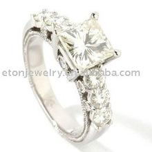 silver ring zircon--- Ring(R5626)