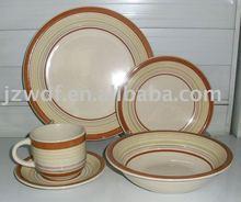 20pcs Ceramic Dinner Set with handpainting
