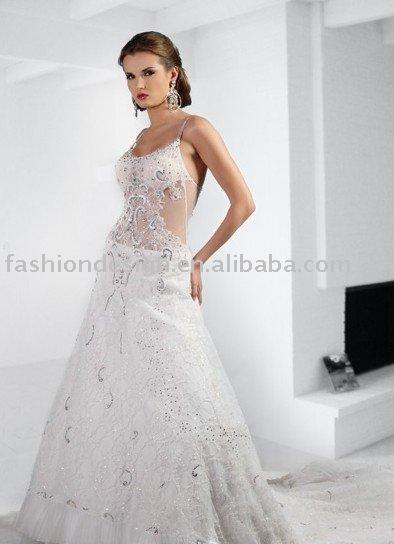A015 Lebanon wedding gown arabic wedding dress
