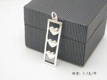 Silver/brass sterling silver charm (Custom Design Only)