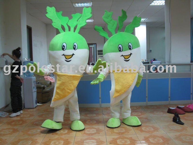 Vegetables Mascot Costume/ Carrot Mascot/ Carrot Costume