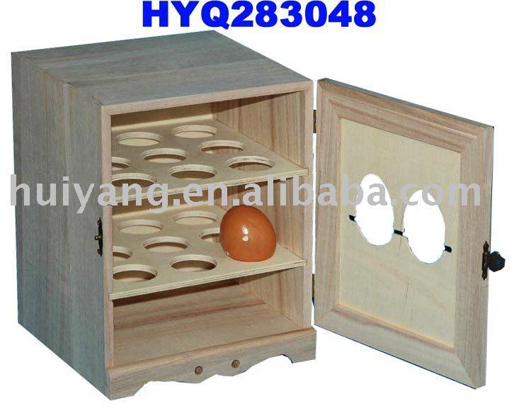 wooden egg rack