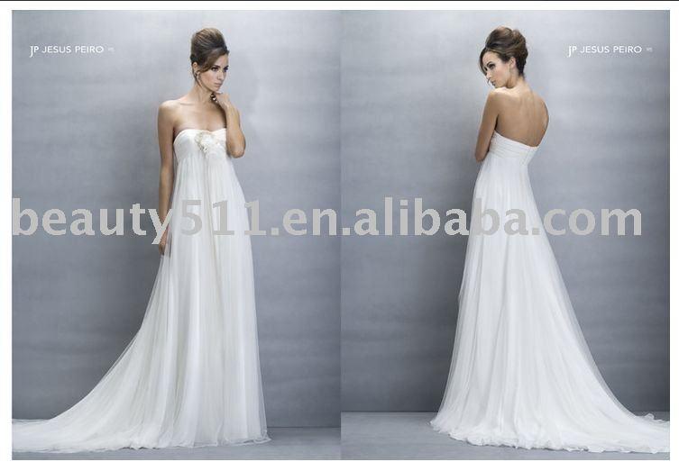 2010 western wedding dressesbridal gown sweetheart ALINE WDAH0115