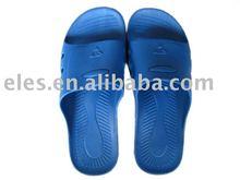 esd pu slipper soft blue/white/black