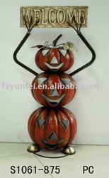 craft halloween pumpkin