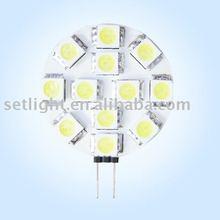 high bright G4 12SMD 5050 led