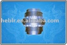 Straight pipe pressure balance compensator