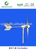 wind turbine's output line anti-winding device for overall three-phase commutator within 45m/s wind speed