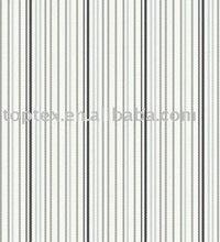 TC yarn dyed shirt stripes poplin fabric