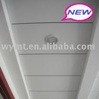 white plain gypsum ceiling board