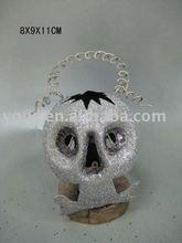 metal ghost halloween hanging