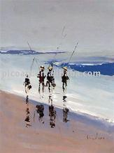 modern people paintings oil painting of people