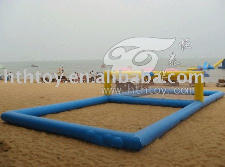 equipments of volleyball. inflatable volleyball court