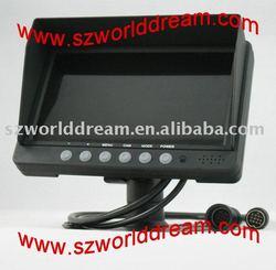 7 inch TFT LCD car monitor