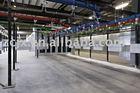 power painting conveyor line