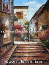 Best Seller Landscape Oil Painting Mediterranean Sea Oil Painting