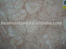 Fossilous Beige marble fireplace