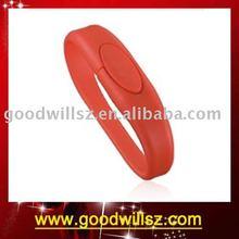 OEM Promotion Gift Charm Bracelet Mini Usb Flash Drive