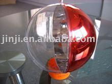 Plastic christmas transparent ball decoration