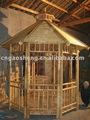 De bambú gazebo, pérgola de hueso, pabellón de hueso